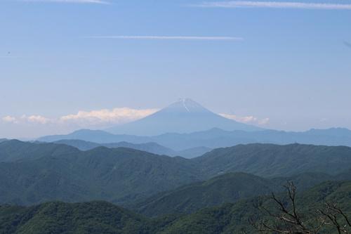 笠取山下山4