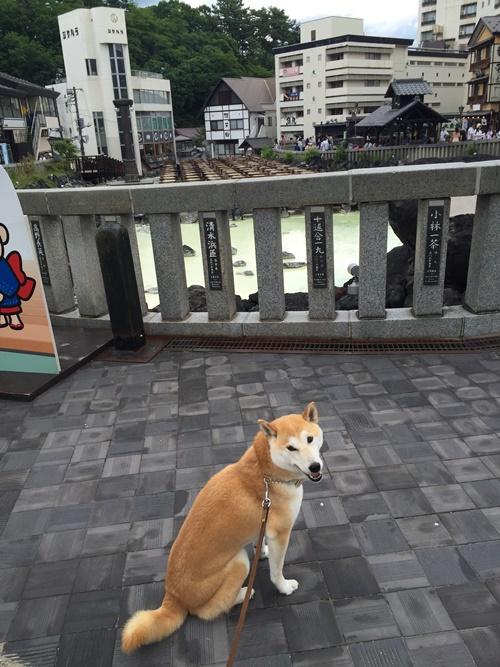 草津温泉・湯畑散歩