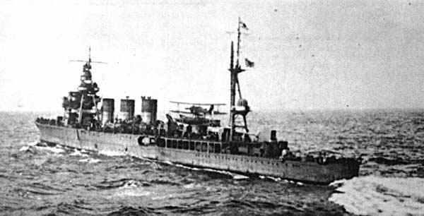 軽巡洋艦 阿武隈