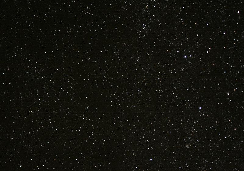 満点の星・星・星・・・