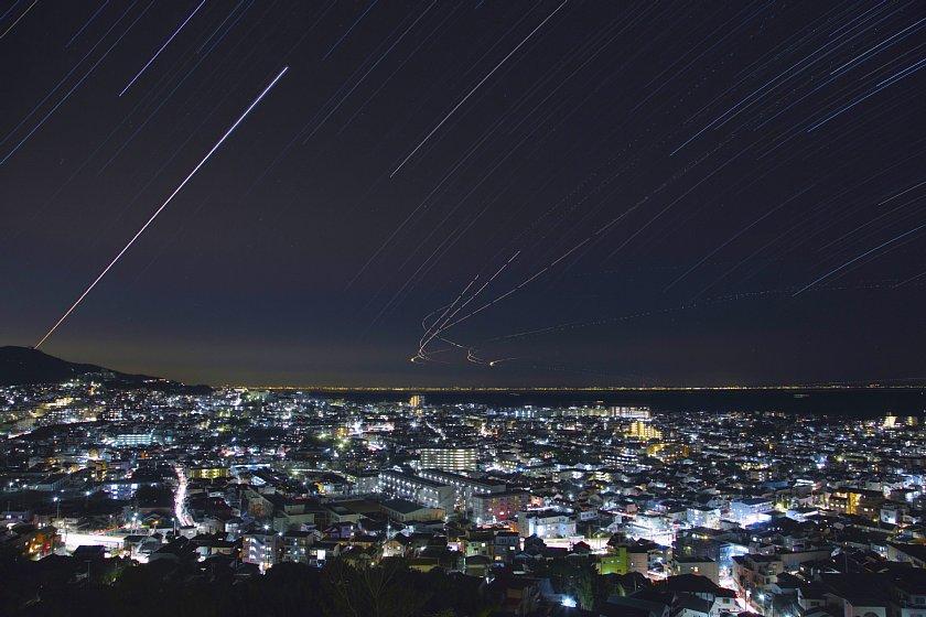 【都市星景】大阪湾