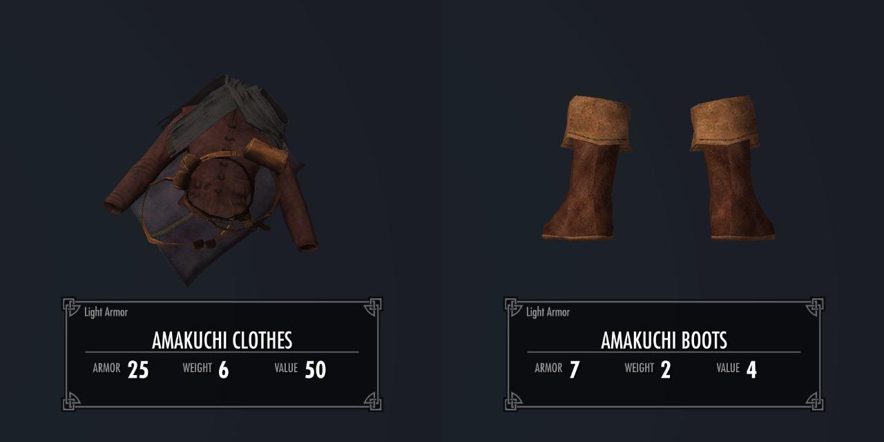 AmakuchiArmorSK 011-1 Info Boots 2