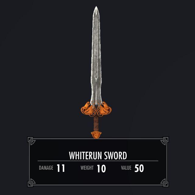 WhiterunSwordSK 010-1 Info 1HS 1