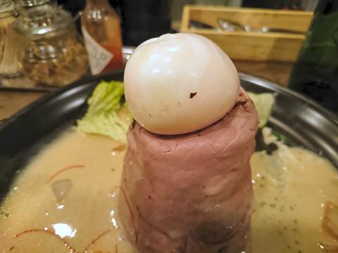 半熟卵@ボルケーノキッチン