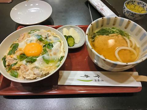 親子丼・小うどんセット@道頓堀今井本店