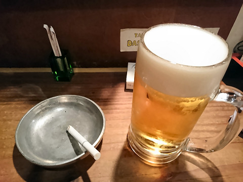 生ビール@Kitchen和(nico)