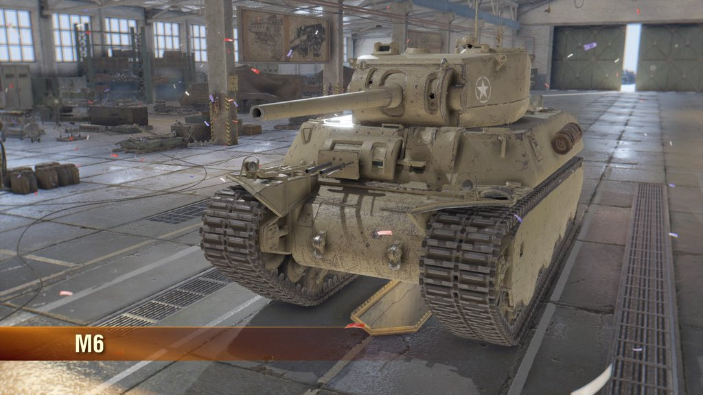 WoT 初Tier6 M6