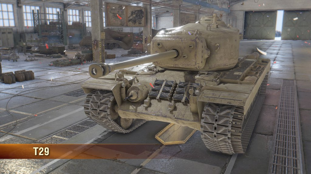 World of Tanks T29 開発へ