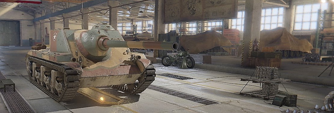 World of Tanks T25 AT 最終砲を搭載