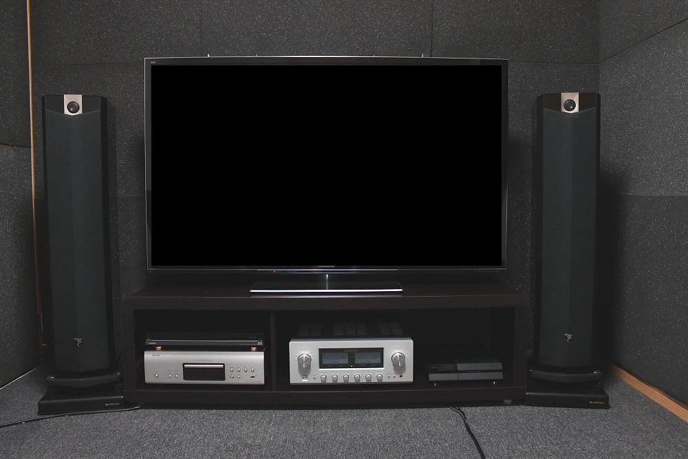 大型テレビでは・・・