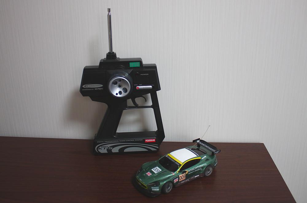 ミニッツレーサー アストンマーチンレーシング DBR9