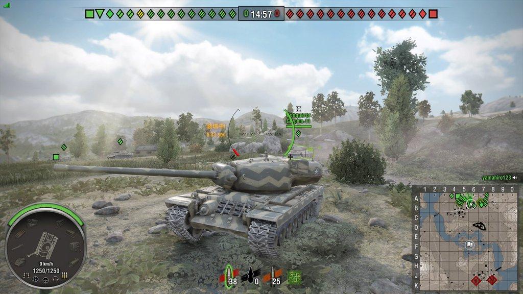 T29 やっと105 mm Gun T5E1を装着したぞ