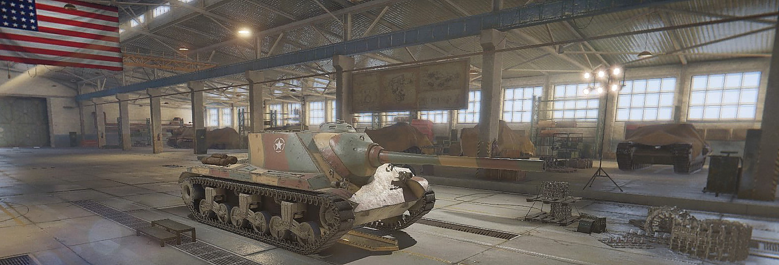 World of Tanks T25 AT 中間砲を装着
