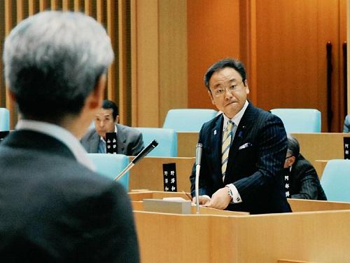 栃木県議会<第339回 通常会議>代表質問 登壇!②