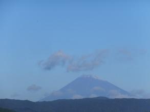 富士山初冠雪(^o^)~2016.10.26