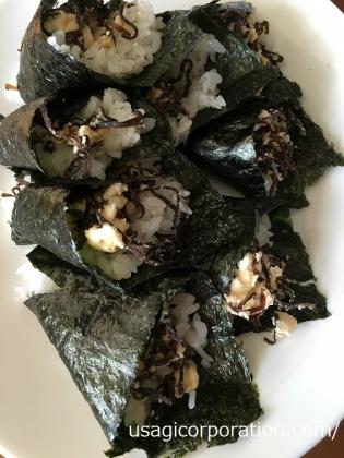 2016 0901 手巻き寿司